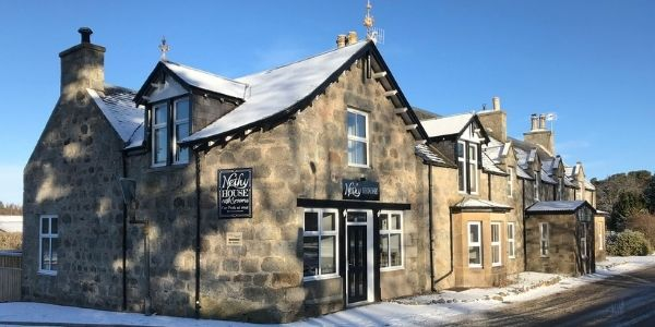 Nethy House in the snow